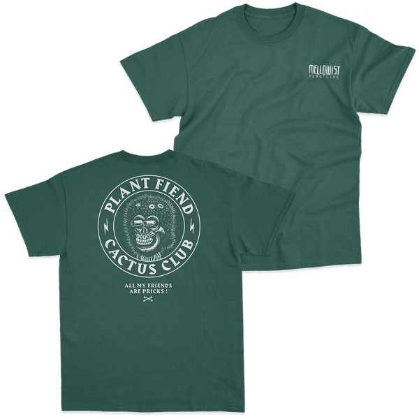 'Plant Fiend' T-Shirt (Green)