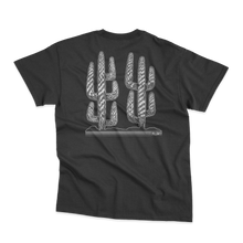 Load image into Gallery viewer, 'Lonely Saguaro' T-Shirt (Black)