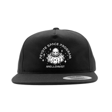 Load image into Gallery viewer, 'Peyote Space Program' SnapBack Hat (Black)