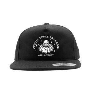 'Peyote Space Program' SnapBack Hat (Black)