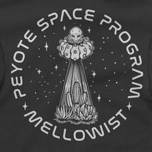Load image into Gallery viewer, 'Peyote Space Program' Zip Hoodie (Black)