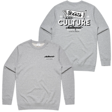 Load image into Gallery viewer, 'Roots & Culture' Crewneck Sweatshirt (Grey)