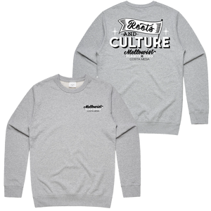 'Roots & Culture' Crewneck Sweatshirt (Grey)