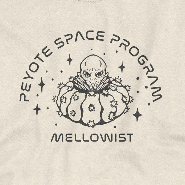 'Space Program' T-Shirt (Natural)