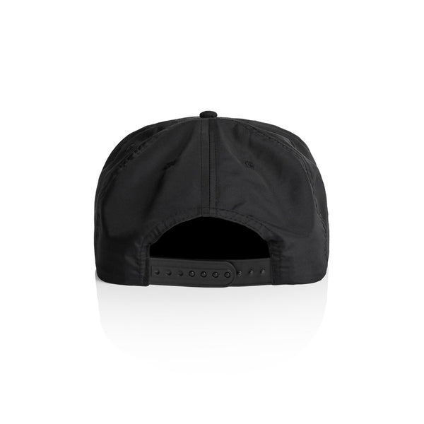 'Cactus Culture' Unstructured Nylon SnapBack Hat (Black)