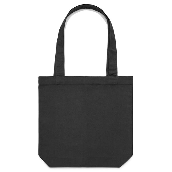 'Plant Fiend' Large Black Tote (Bag)
