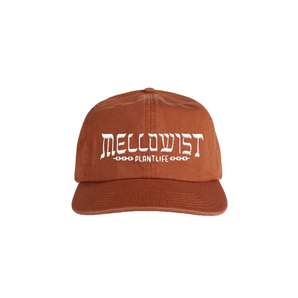 'Linked' Unstructured 6 Panel StrapBack Hat (Copper)