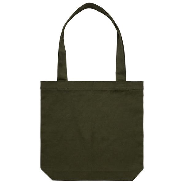 'Aloe Script' Large Army Tote (Bag)