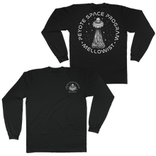 Load image into Gallery viewer, 'Peyote Space Program' Long Sleeve T-Shirt (Black)