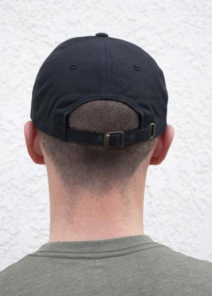 19b940b9e61de ... Legacy Dad Hat Black - Back ...