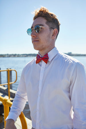 Bow Tie - Natures Ants (Red)