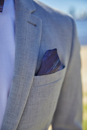 Pocket Square - Ripple