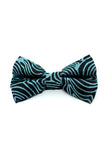 Bow Tie - Emu Feathers (Blue)