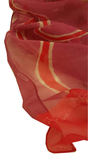 Pure Silk Scarf -  Waterholes