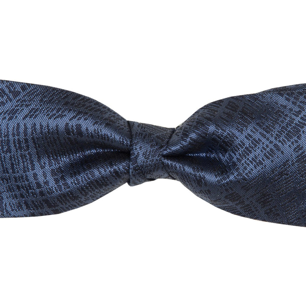 Bow Tie & Pocket Square Set - Fishing Net : Blue