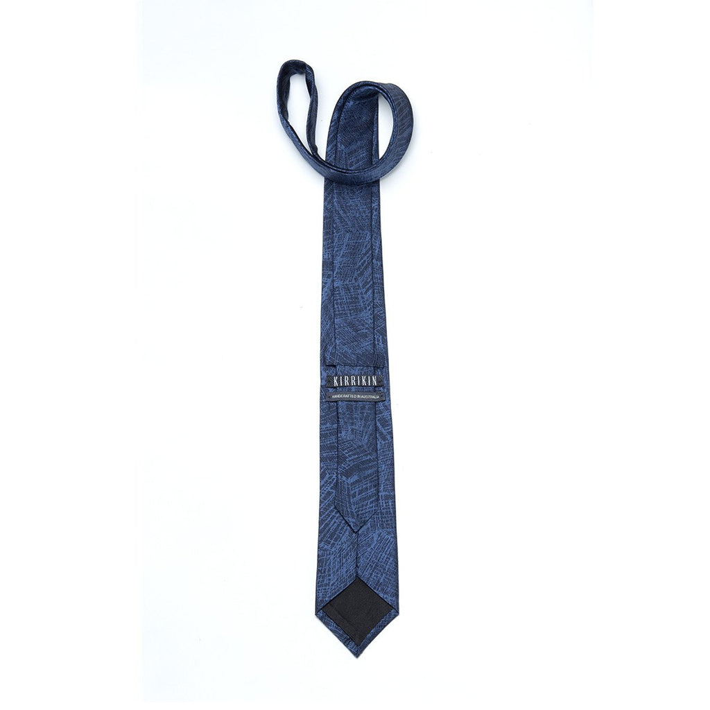 Necktie - Fishing Net : Blue