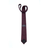 Necktie - Fishing Net : Burgundy