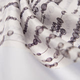 Silk Habutai Scarf - Gooseberries