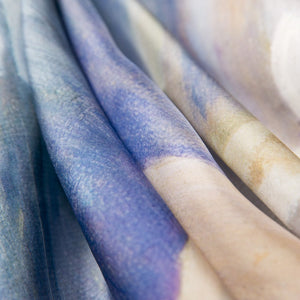 Silk Cotton Scarf - Kangaroos