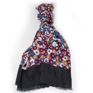 Silk Cotton Scarf - Native Pear Flower