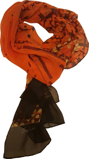 Pure Silk  Scarf - Overland Sigh