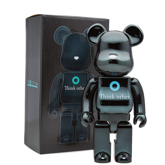 Medicom BEARBRICK Pharrell Williams I am OTHER Black Version 400%