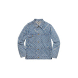 Louis Vuitton x Supreme Jacquard Denim Chore Coat