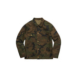 Louis Vuitton x Supreme Jacquard Camo Denim Chore Coat