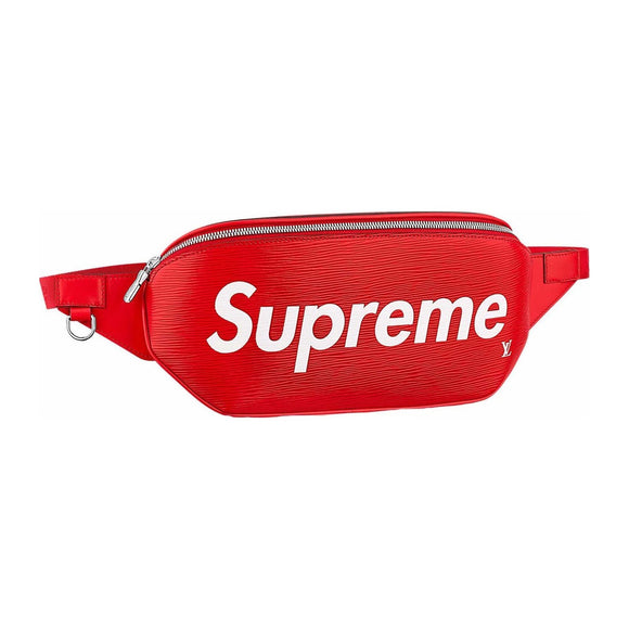 Louis Vuitton x Supreme Bumbag Epi Red