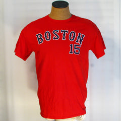 Boston Red Sox # 15 Pedroia T-Shirt