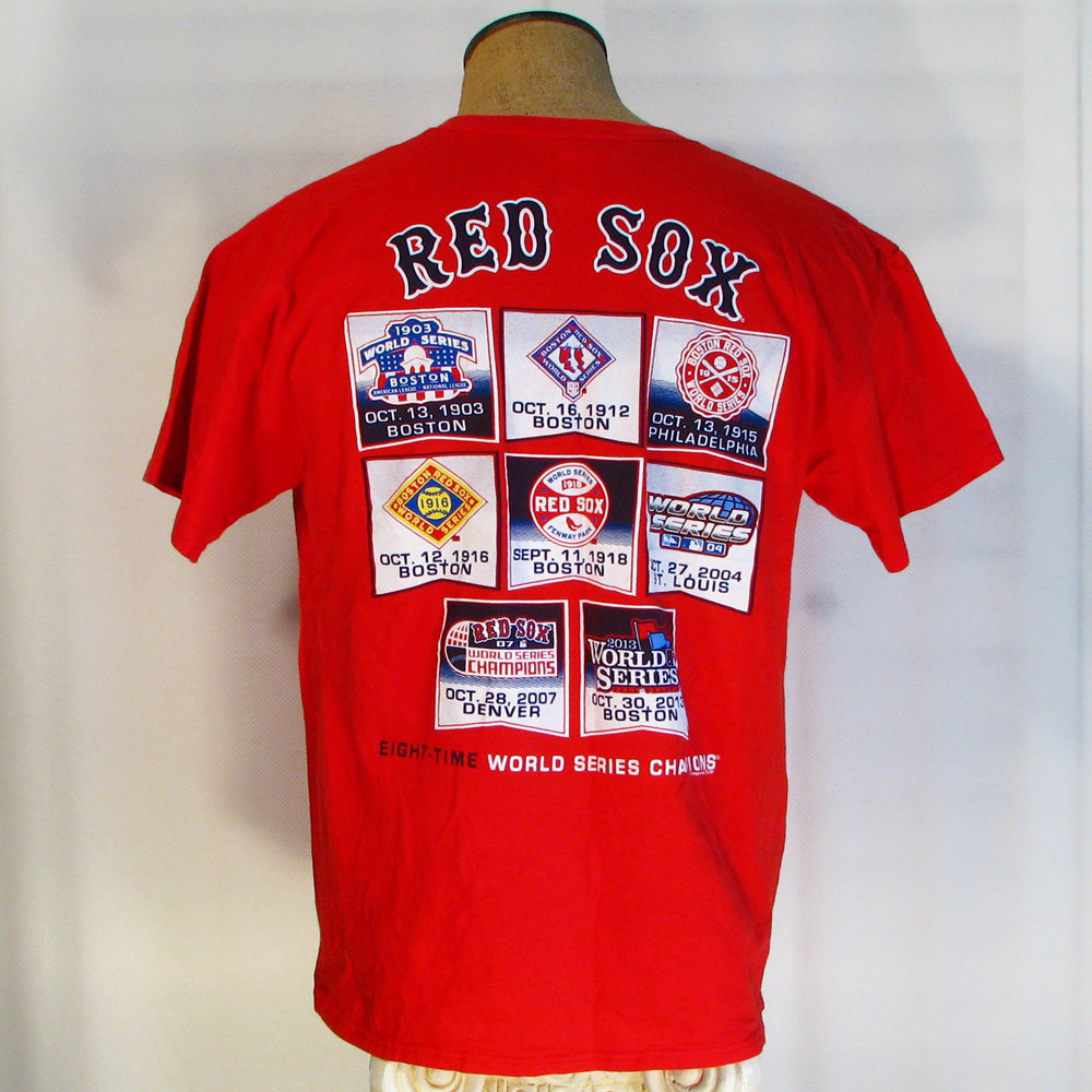 Boston Red Sox Eight Time World Series Champs T-Shirt