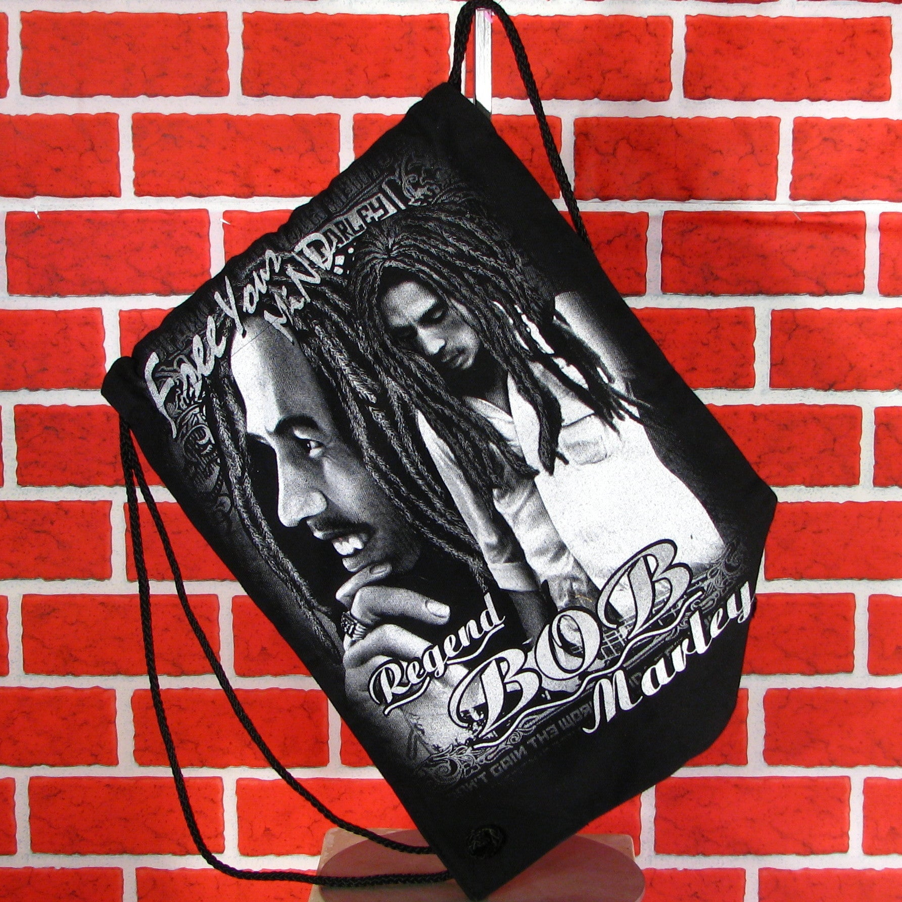 Bob Marley Back pack/ book bag