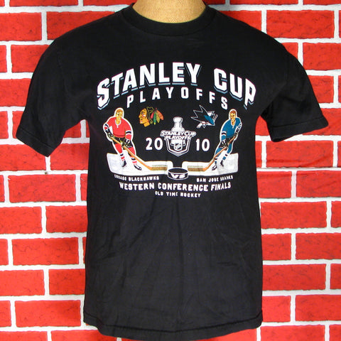 2010 Stanley Cup Playoffs Hawks/Sharks T-Shirt