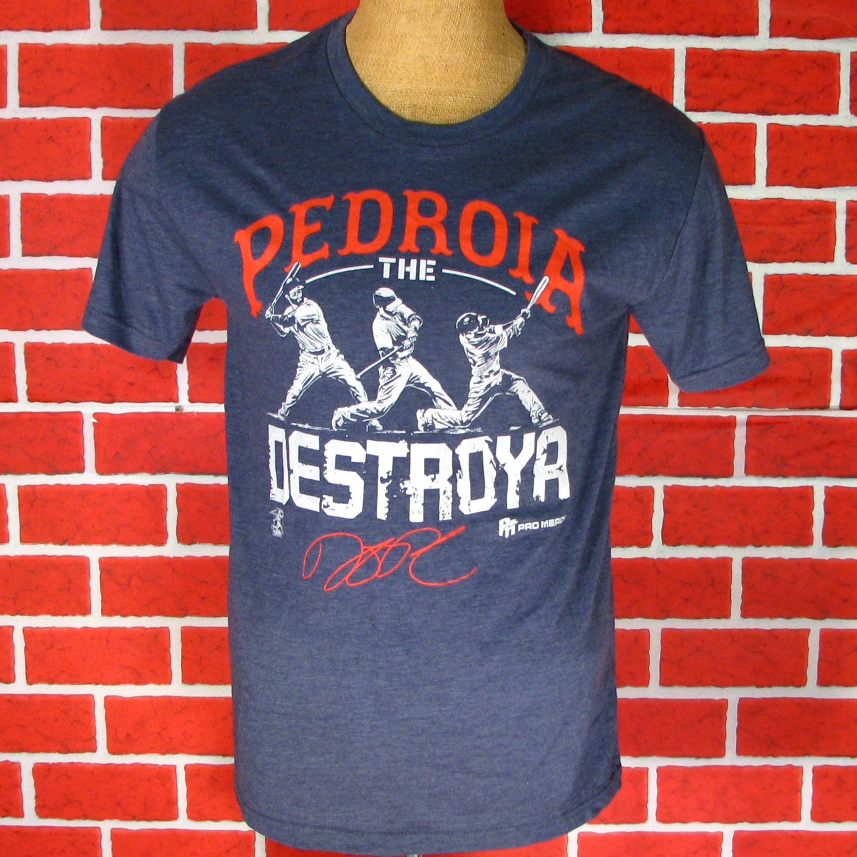 Boston Red Sox Pedroia the Destoya T-Shirt