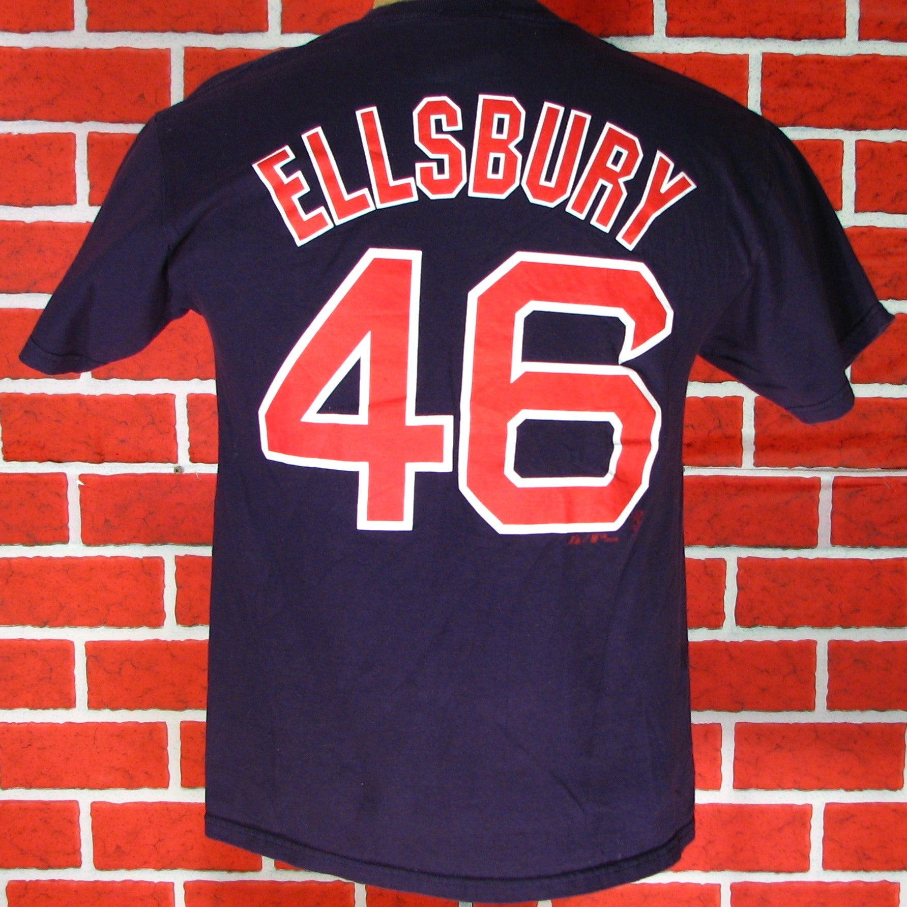 newest collection 07675 cf53d Boston Red Sox Ellsbury # 46 T-Shirt