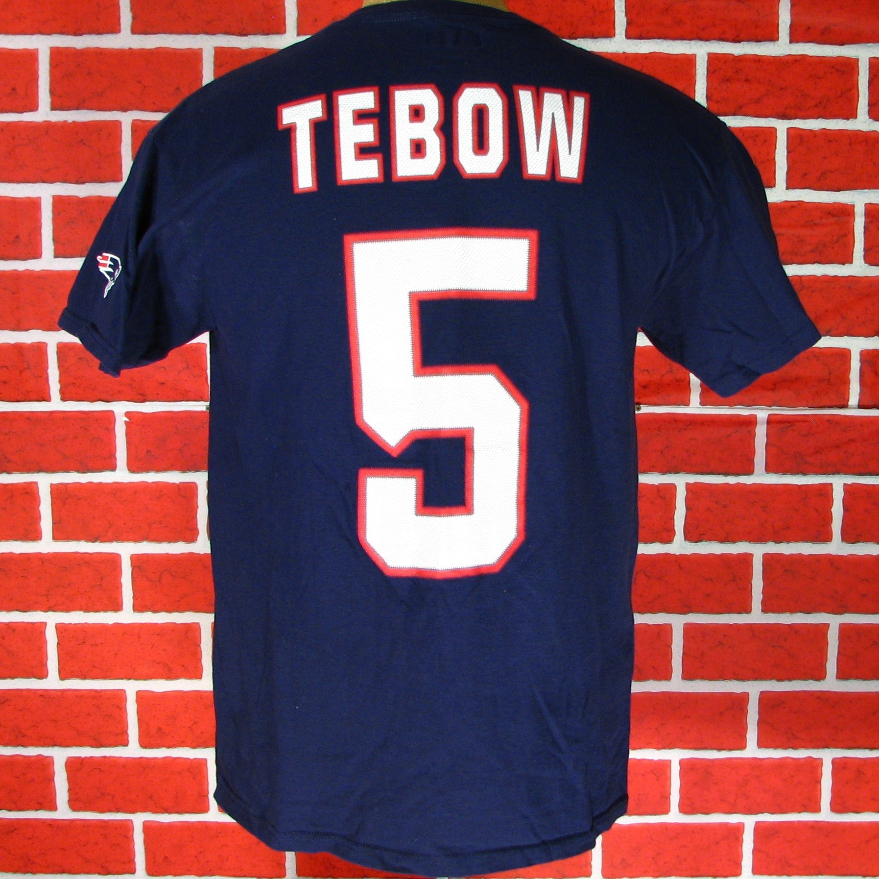 New England Patriots Tebow # 5 T-Shirt