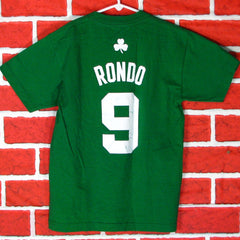 Boston Celtics Rondo # 9 T-Shirt Youth