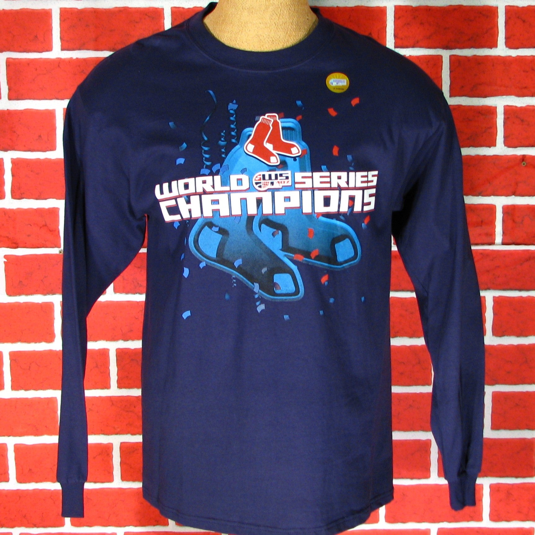 Boston Red Sox 07 World Series Champs Long Sleeve T-Shirt