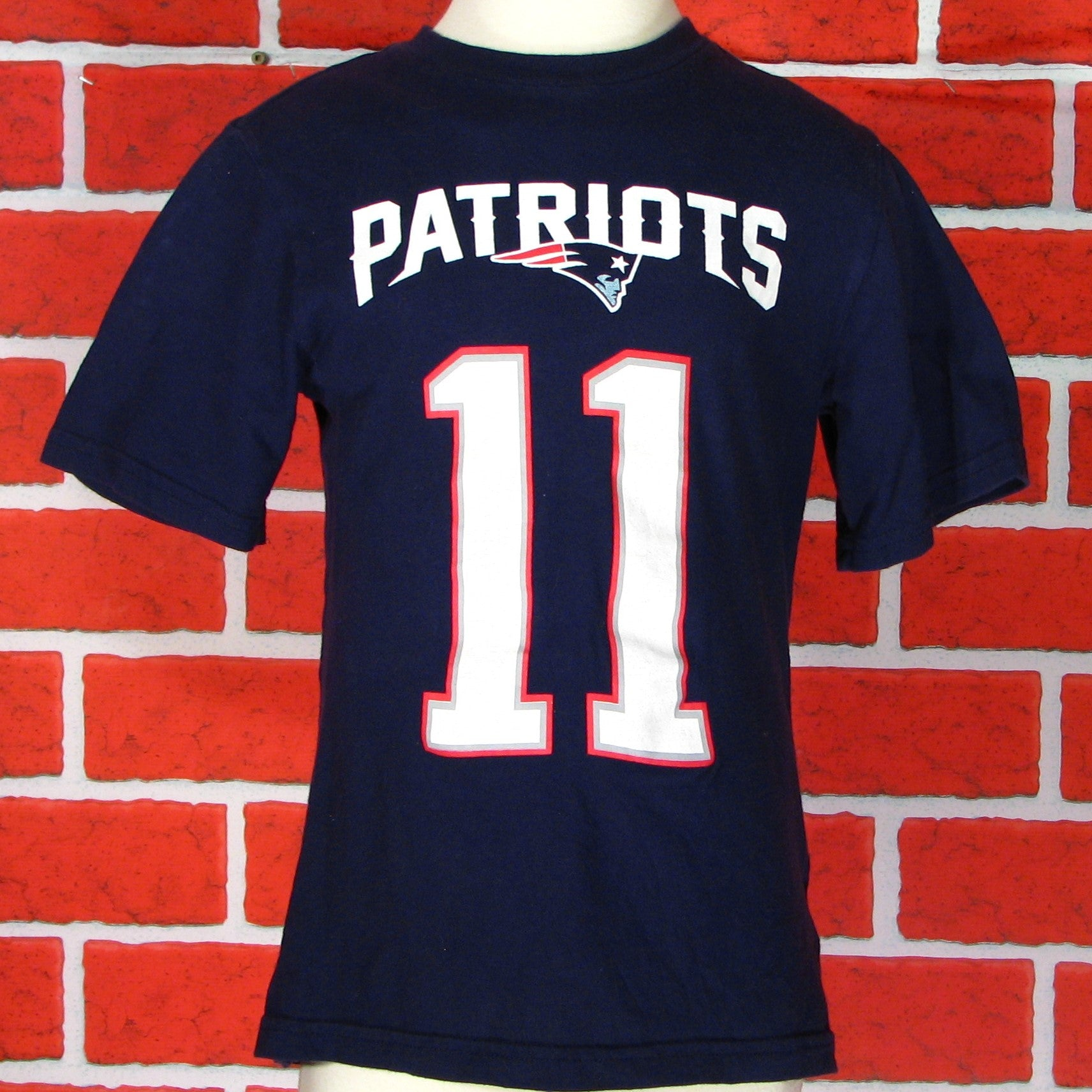 New England Patriots Edelman # 11 T-Shirt Toddler