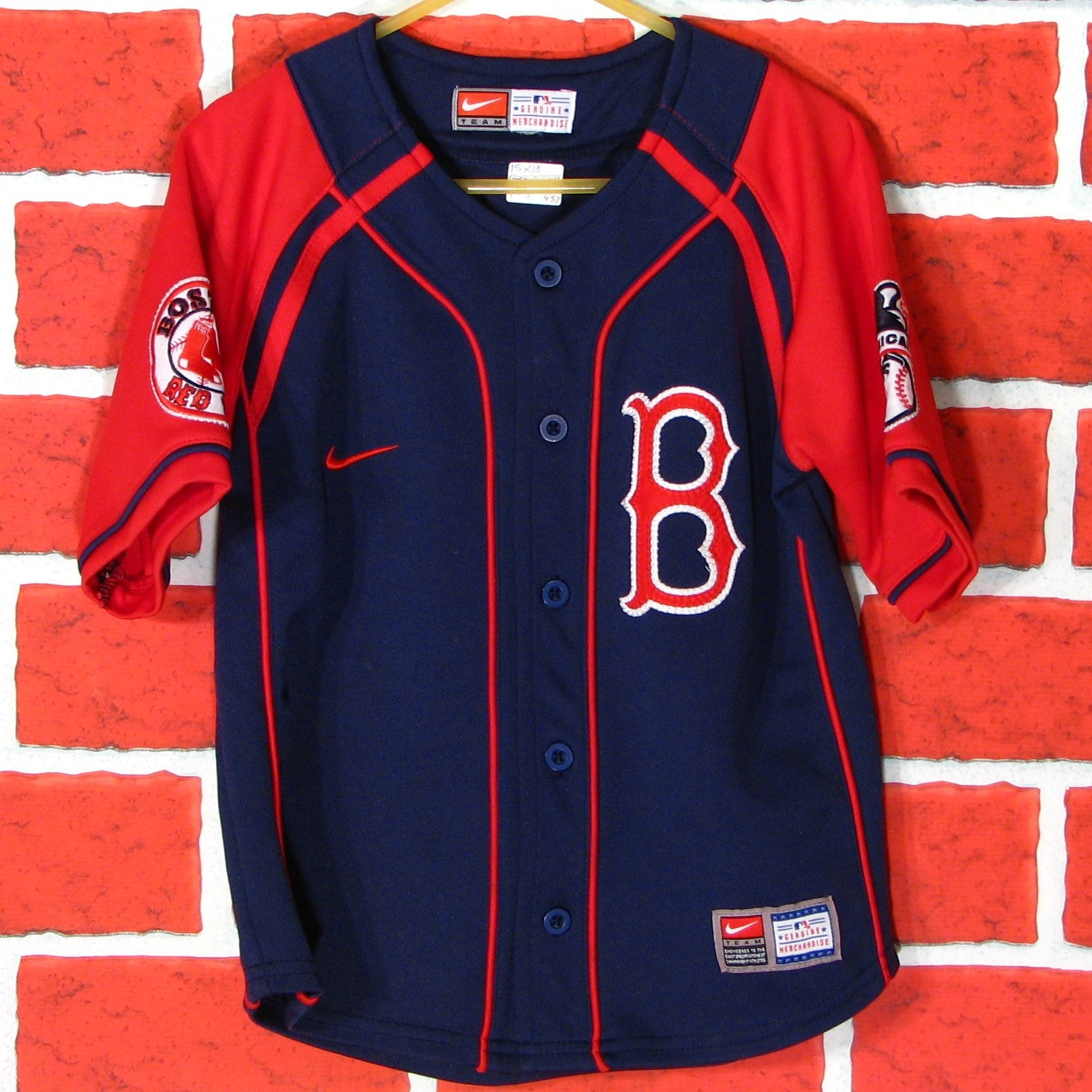 quality design 324b7 147fc Boston Red Sox Jersey Toddler