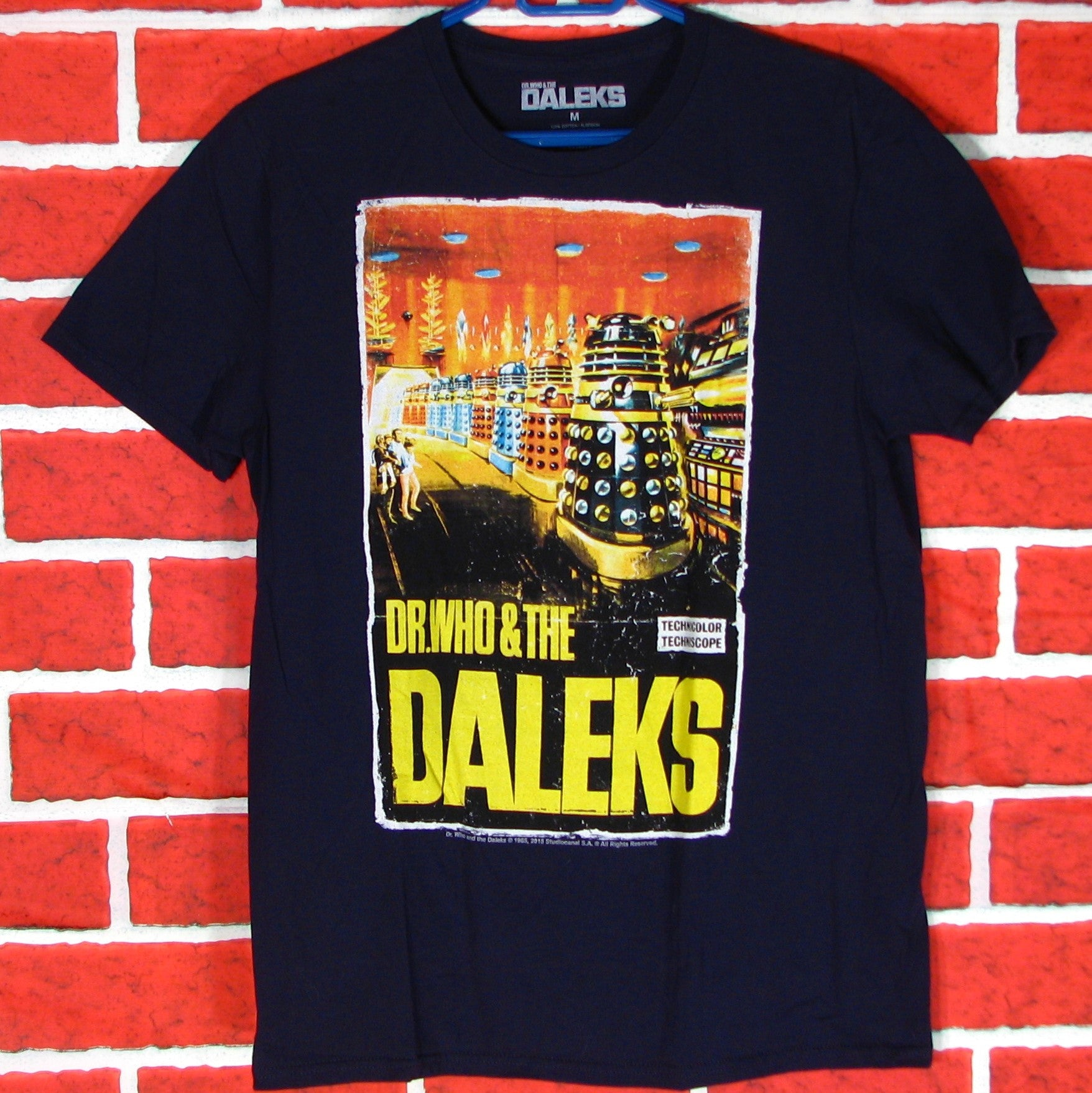 Dr. Who and the Daleks T-Shirt