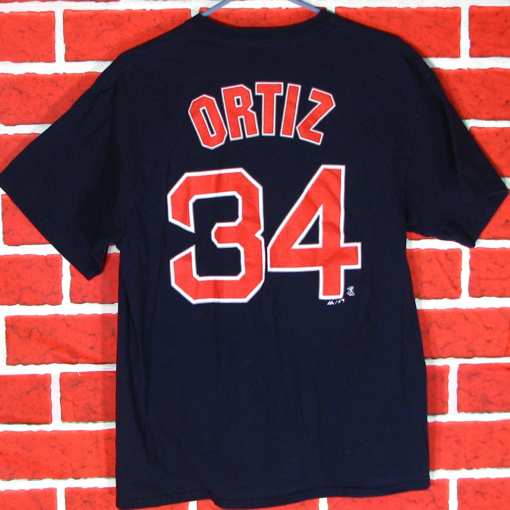 Boston Red Sox Ortiz # 34 T-Shirt