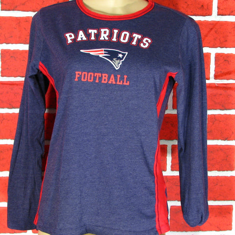 New England Patriots Long Sleeve T-Shirt Womens