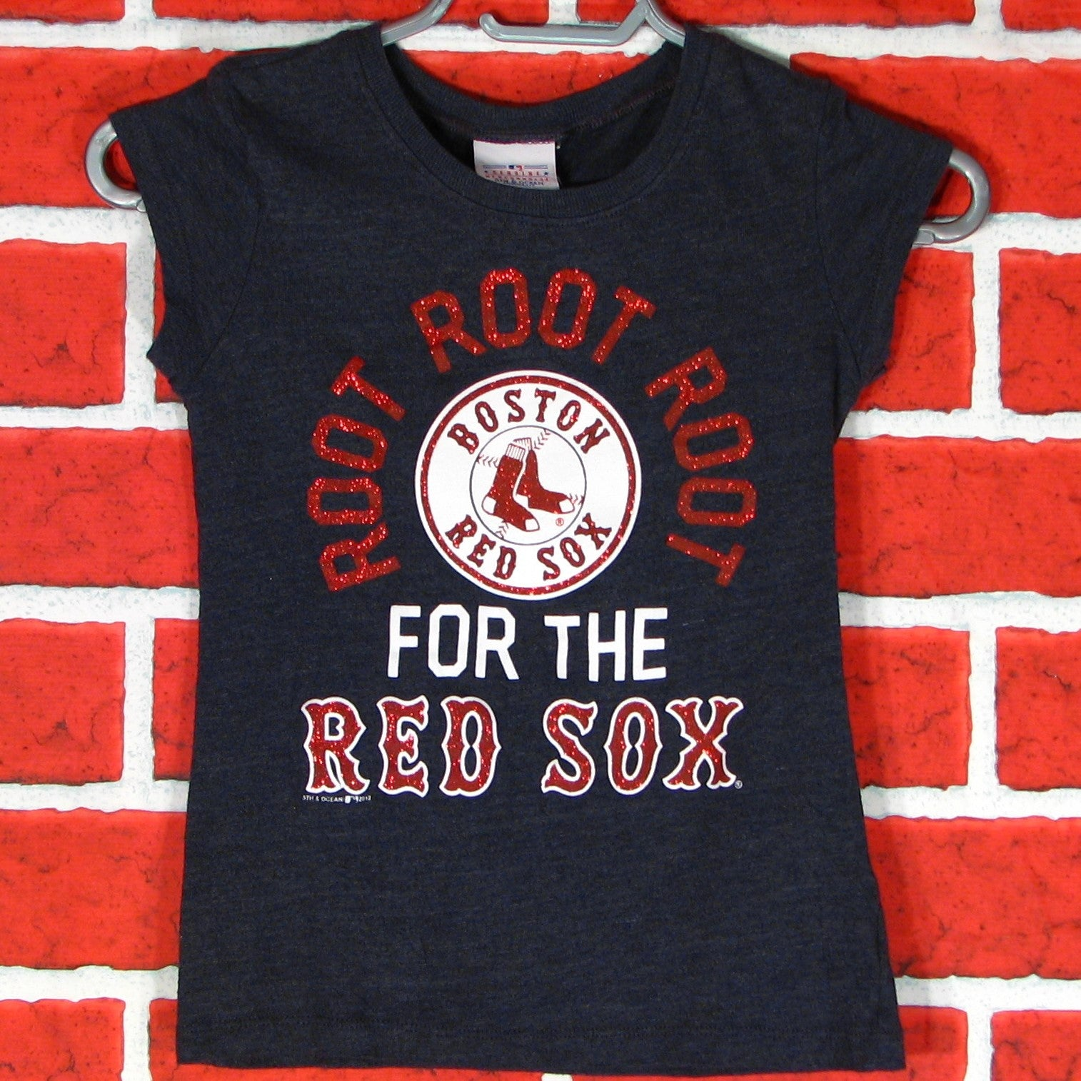e6553981a Root Root Root for the Red Sox T-Shirt Toddler Girls – Vintage T ...