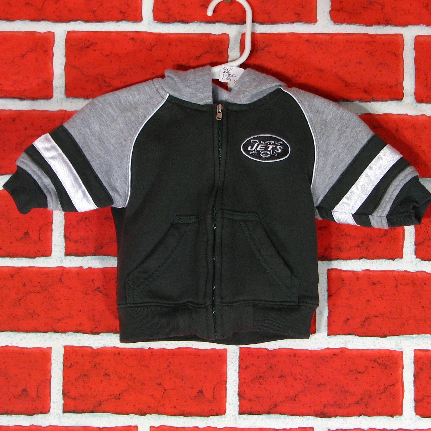 low priced 974e2 bf5bc New York Jets zippered Hoodie Toddler