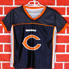 Chicago Bears  NFL Flag Play 60 Reversable Jersey Youth