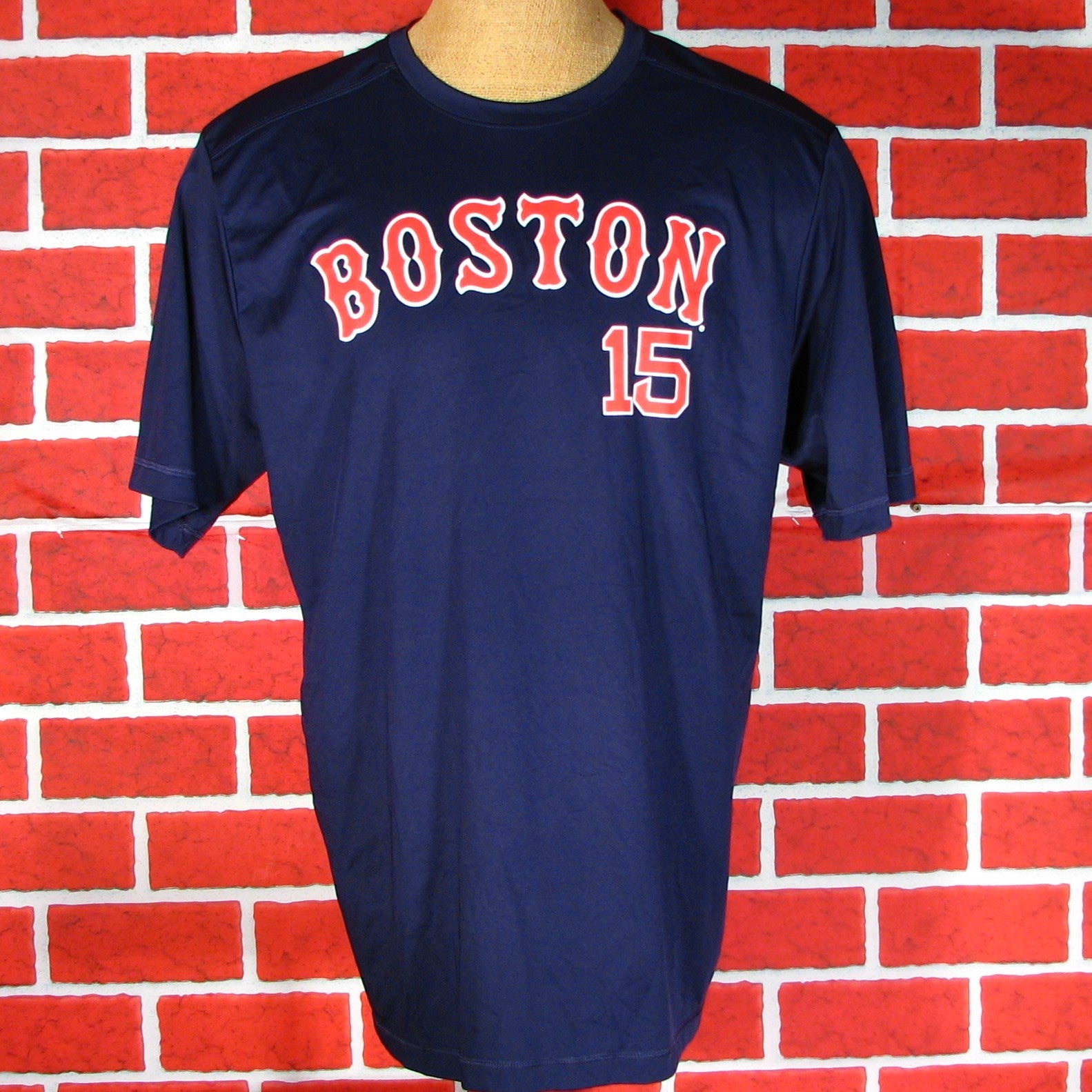 info for 0f304 6a776 Boston Red Sox Pedroia # 15 T-Shirt – Vintage T-Shirt Fans