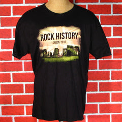 Rock History Joe Bonamassa 2013 London Tour T-Shirt