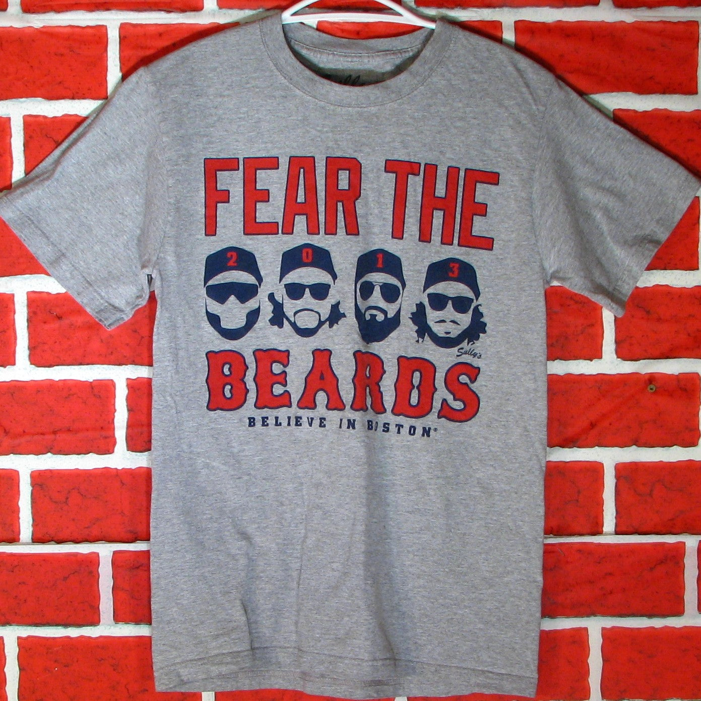 Red Sox Fear The Beards T-Shirt