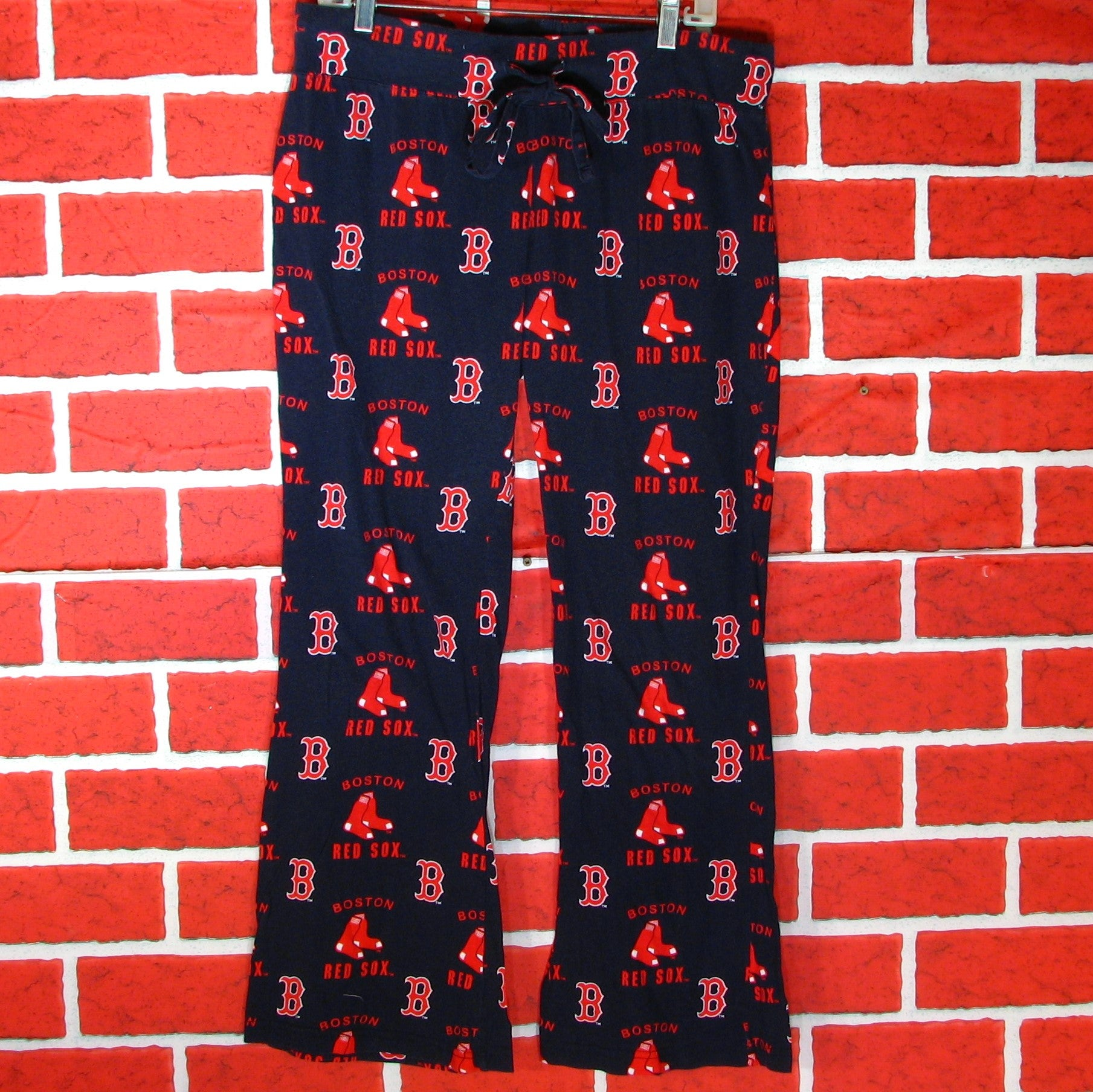 Boston Red Sox Pajama Bottoms Womens